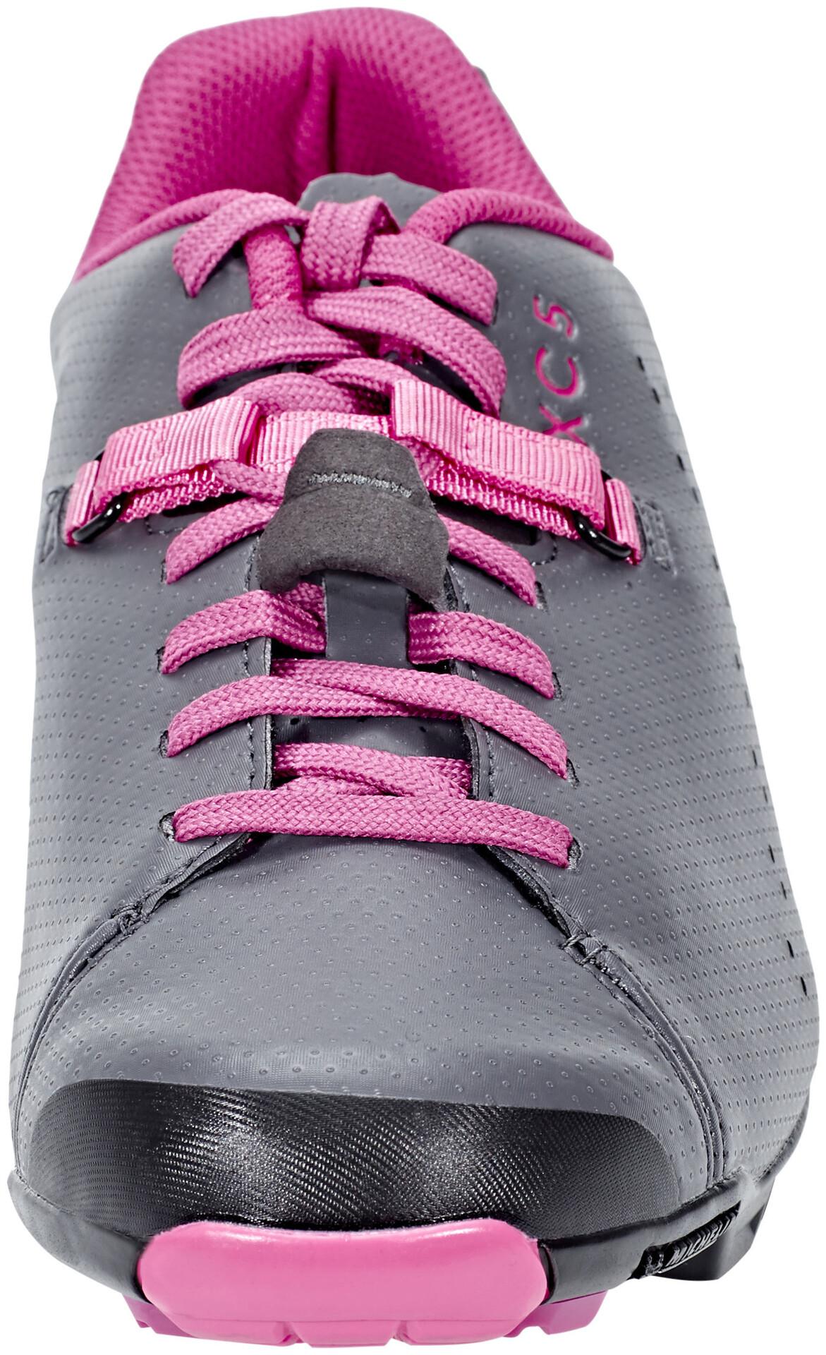 Shimano SH XC5 Chaussures de cyclisme Femme, grey magenta